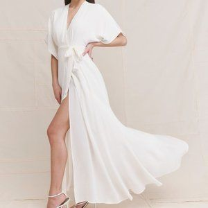 Reformation Winslow Dress in Ivory *NEW*